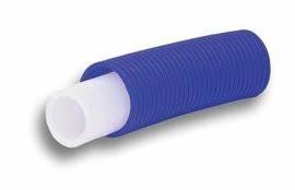 Käyttövesiputki PEX 15x2,5/28 suojaputkessa 50m sininen