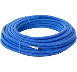 Käyttövesiputki PEX 18×2,5/28 suojaputkessa 50m sininen