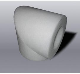 Insuplast kulmaosa 90 ast., 125 / 50 mm