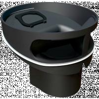Lattiakaivon erikoisvesilukko Vieser 51923